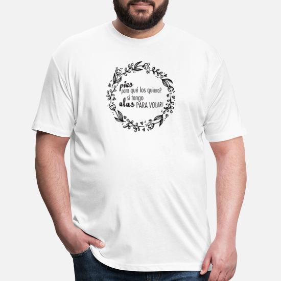 bbe630d69 Frida T-Shirts - Frida Kahlo Quotes - Black - Unisex Poly Cotton T-.  Customize