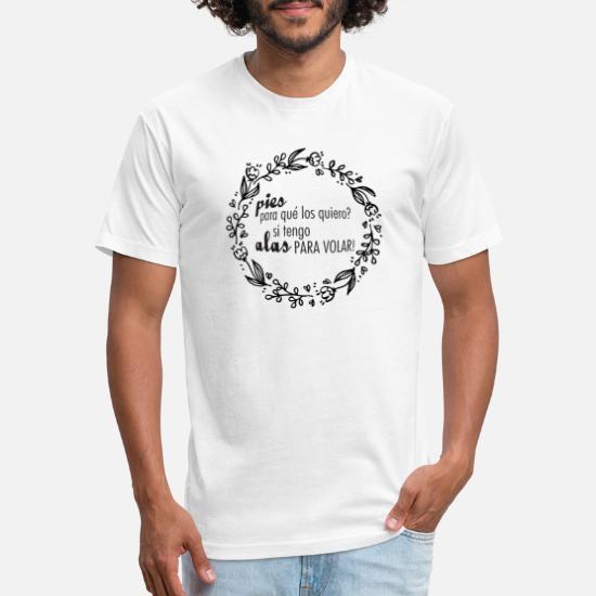 c0afb314e Frida T-Shirts - Frida Kahlo Quotes - Black - Unisex Poly Cotton T-