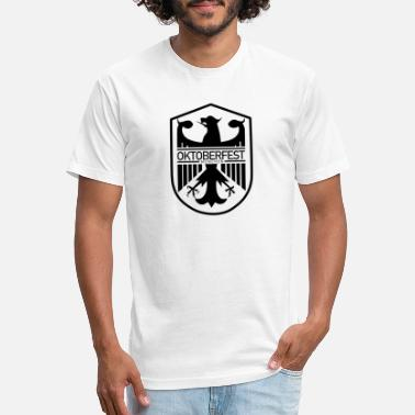 Oktoberfest Beer T-shirt - Unisex Poly Cotton T-Shirt