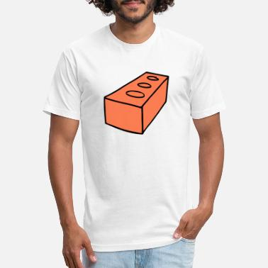 Brick Brick - Unisex Poly Cotton T-Shirt