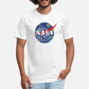 Nasa NASA starry night - Unisex Poly Cotton T-Shirt