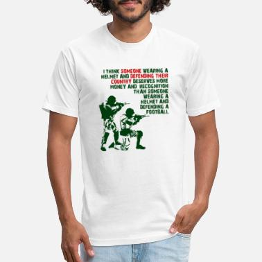 Funny Insults Wearing A Helmet Funny T-shirt - Unisex Poly Cotton T-Shirt
