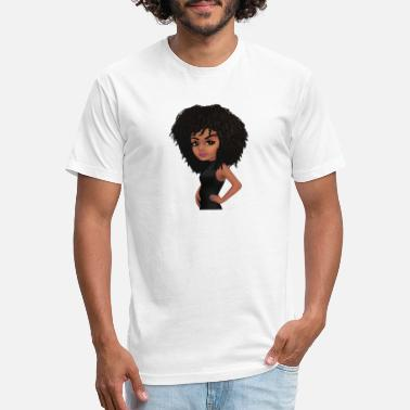 Natural Natural Brown Eyed Girl - Unisex Poly Cotton T-Shirt