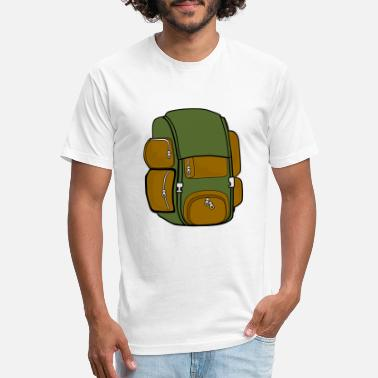 Backpack backpack - Unisex Poly Cotton T-Shirt