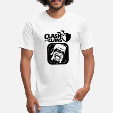 Clash Barbarian Clash of Clans - Unisex Poly Cotton T-Shirt