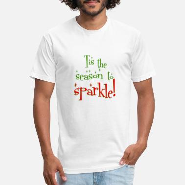 33eb37d618c8 Tis the season to sparkle! - Unisex Poly Cotton T-Shirt