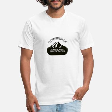 Faith moves Mountains Confidence - Unisex Poly Cotton T-Shirt