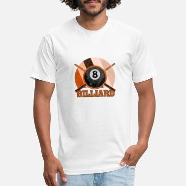 Kö Billiard Kö Cue Ball 8Ball Gift Sport Hobby - Unisex Poly Cotton T-Shirt
