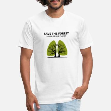 Greenpeace SAVE THE FOREST - Unisex Poly Cotton T-Shirt
