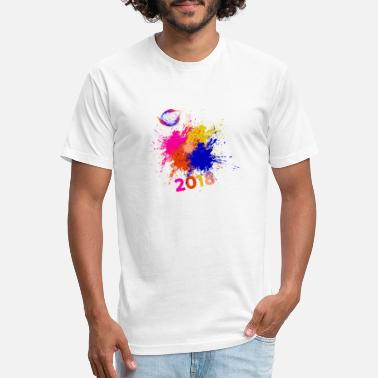 Holi HOLI - Fitted Cotton/Poly T-Shirt by Next Level