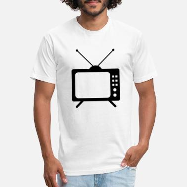 Watch Tv tv tv screen watch watch watch video old retro ant - Unisex Poly Cotton T-Shirt
