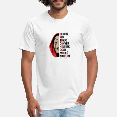 Bella la casa de papel - Unisex Poly Cotton T-Shirt