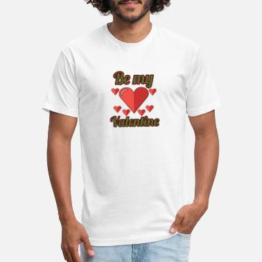 Be my valentine - Unisex Poly Cotton T-Shirt