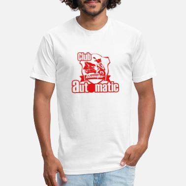 Red Club Scooter Automatic - Unisex Poly Cotton T-Shirt