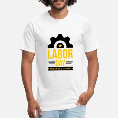 Right Wing Workers Right - Unisex Poly Cotton T-Shirt