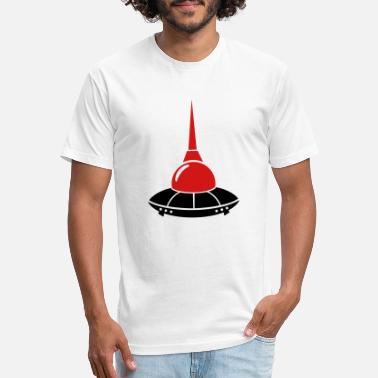 Television Tower berlin ufo television tower germany - Unisex Poly Cotton T-Shirt