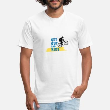 Ride Out Get Out and Ride - Unisex Poly Cotton T-Shirt