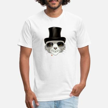 rocker cat - Unisex Poly Cotton T-Shirt