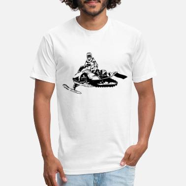 Snowmobile Snowmobile - Snowmobiling - Unisex Poly Cotton T-Shirt