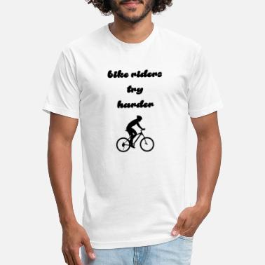 bike riders - Unisex Poly Cotton T-Shirt