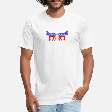 Democratic Party Divided Democratic Party - Unisex Poly Cotton T-Shirt