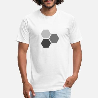 Hexagon Hexagons - Unisex Poly Cotton T-Shirt