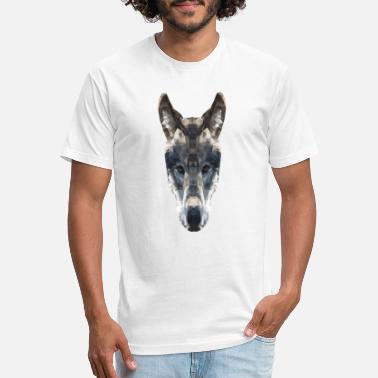 Polygon Polygon Wolf - Unisex Poly Cotton T-Shirt