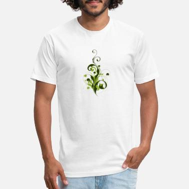 Abstract Flora Abstract Flora - Unisex Poly Cotton T-Shirt