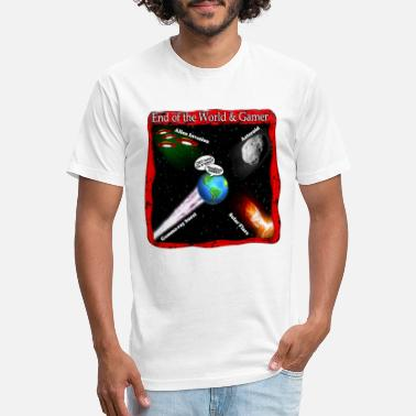 End Of World End of World Gamer - Unisex Poly Cotton T-Shirt