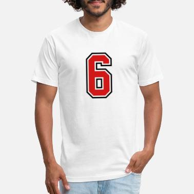 Jersey Number 3955797 15268499 sports jersey number 6 - Unisex Poly Cotton T-Shirt