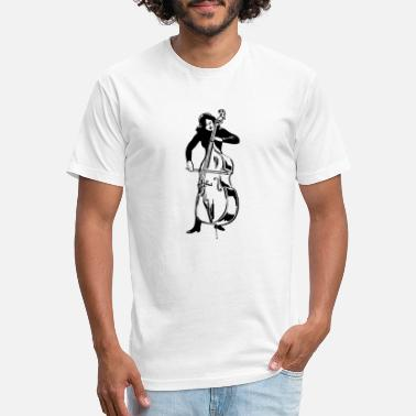 Double Bass Double bass - Unisex Poly Cotton T-Shirt