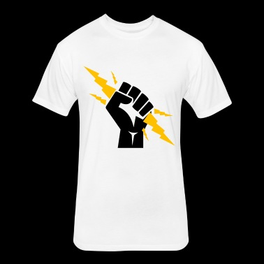 BuzzMoy Zeus Squad #1 - Fitted Cotton/Poly T-Shirt by Next Level