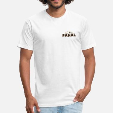 Omani fahal  - Fitted Cotton/Poly T-Shirt by Next Level