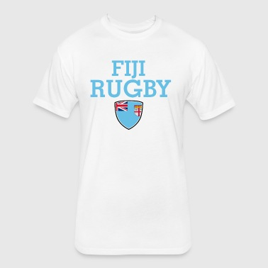 fiji design - Fitted Cotton/Poly T-Shirt by Next Level