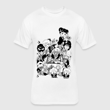 Residents of Penguin Village - Fitted Cotton/Poly T-Shirt by Next Level