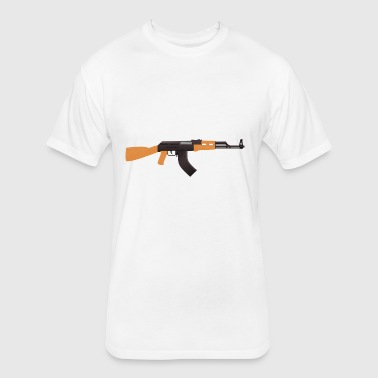 kalashnikov - Fitted Cotton/Poly T-Shirt by Next Level