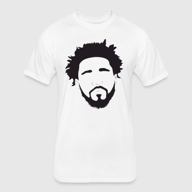 J.cole - Fitted Cotton/Poly T-Shirt by Next Level