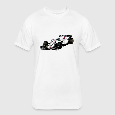 Formula One - Formula 1 - racer - Fitted Cotton/Poly T-Shirt by Next Level