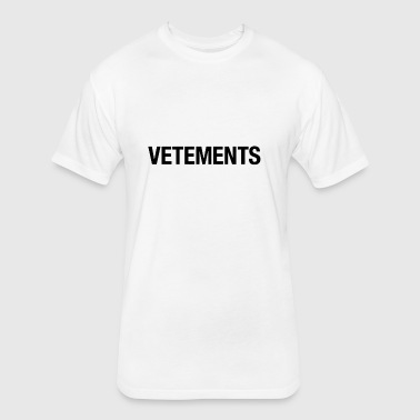 vetement - Fitted Cotton/Poly T-Shirt by Next Level