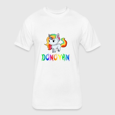 Donovan Unicorn - Fitted Cotton/Poly T-Shirt by Next Level