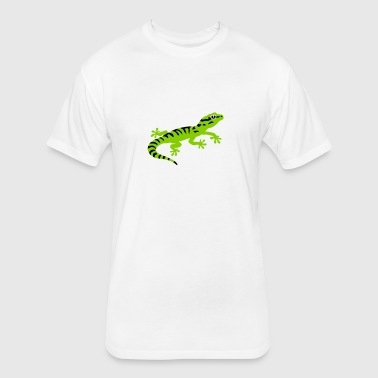 Gecko stripes - Fitted Cotton/Poly T-Shirt by Next Level