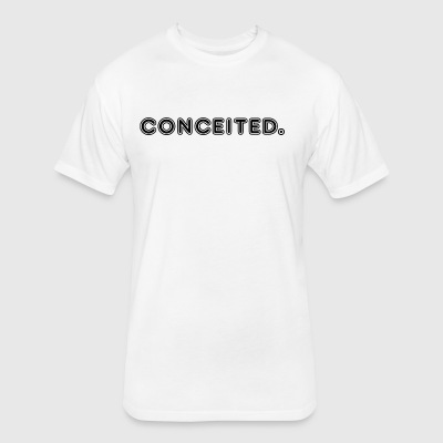 conceited - Fitted Cotton/Poly T-Shirt by Next Level