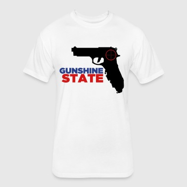 Gunshine State - Fitted Cotton/Poly T-Shirt by Next Level