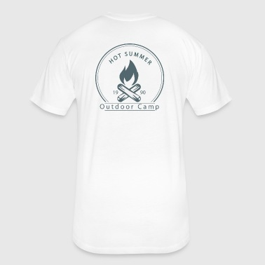 Outdoor Camp T-shirt - Fitted Cotton/Poly T-Shirt by Next Level