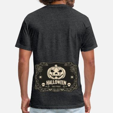 Vintage Halloween Vintage Halloween NEW DESIGN  - Fitted Cotton/Poly T-Shirt by Next Level