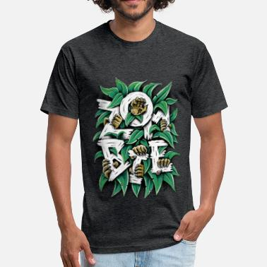 Plants Vs Zombies ZOMBIE - Fitted Cotton/Poly T-Shirt by Next Level