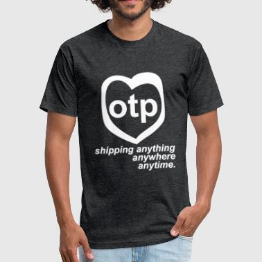 Otp Parody Logo - Fitted Cotton/Poly T-Shirt by Next Level