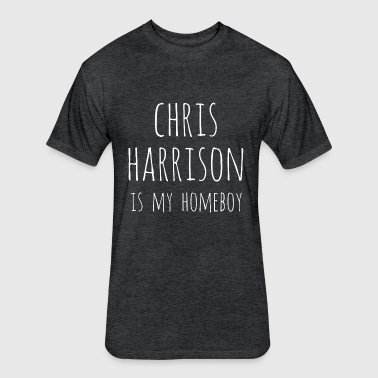 Chris Harrison - Fitted Cotton/Poly T-Shirt by Next Level