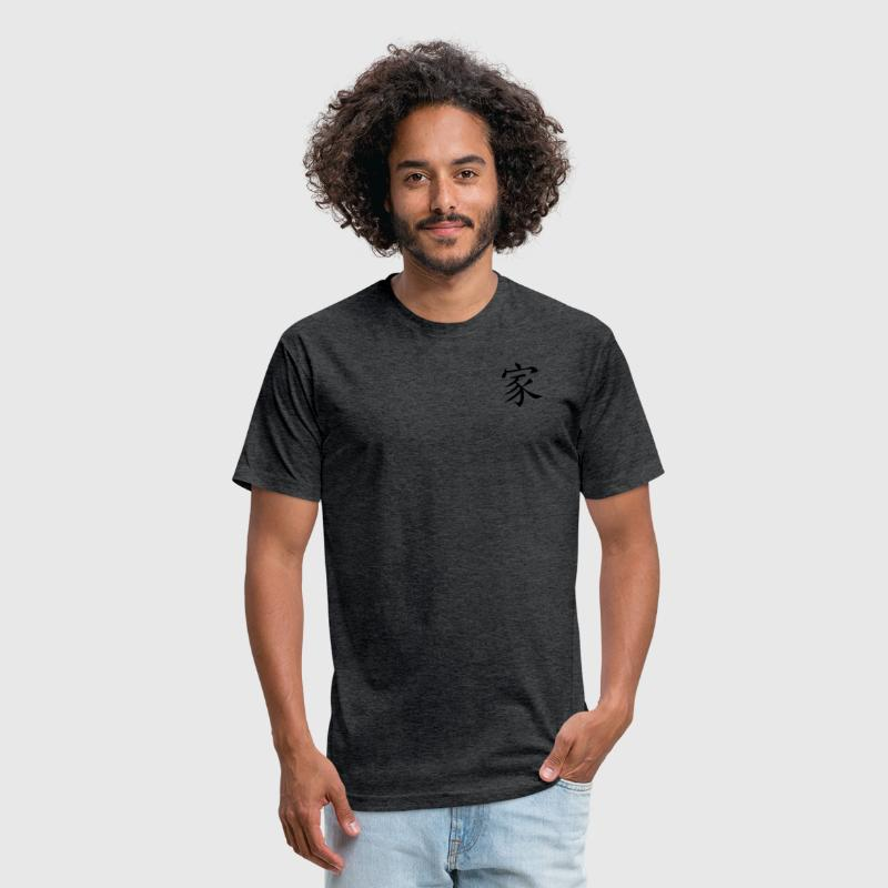 Family - Fitted Cotton/Poly T-Shirt by Next Level
