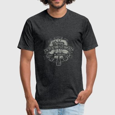 Three Broomsticks - Fitted Cotton/Poly T-Shirt by Next Level